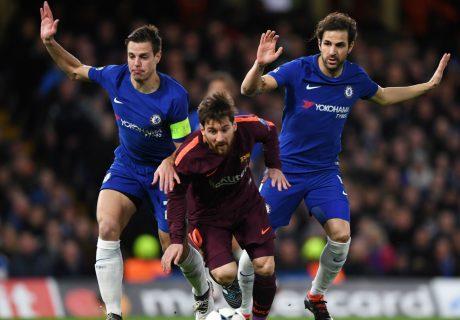 Messi marcó su primer gol al Chelsea justo en el momento que más lo necesitaba su equipo.