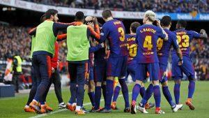 El Barça dejo la Liga sentenciada tras vencer al Atlético de Madrid por 1-0.