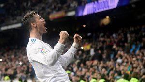 Cristiano Ronaldo marcó su primer póker de goles esta temporada ante el Girona.