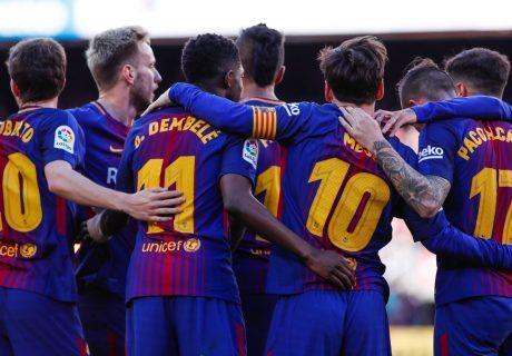 Con la victoria ante el Athletic Club de Bilbao, el Barça aumenta la diferencia con el Atlético de Madrid a 11 puntos.