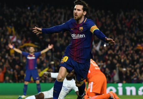 Con su doblete, Messi supera los 100 goles en Champions League, siguiendo los pasos de Cristiano Ronaldo.