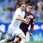 El croata Luka Modric jugó un excelente partido en Ipurúa.