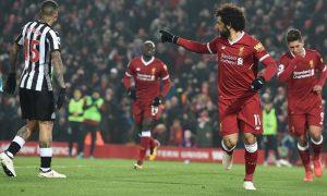 El egipcio Mohamed Salah volvió a marcar ante las Urracas, asentando aún más su primer puesto en la tabla de goleadores de la Premier League.