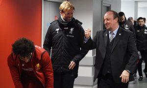 Jürgen Klopp se fue a casa muy feliz tras la victoria de su Liverpool ante el Newcastle de la leyenda Red Rafa Benítez.