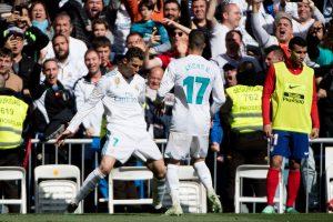 Cristiano Ronaldo marcó por 10º partido consecutivo, siendo el único capaz de marcar al casi inexpugnable Jan Oblak con una gran volea a pase de Gareth Bale.