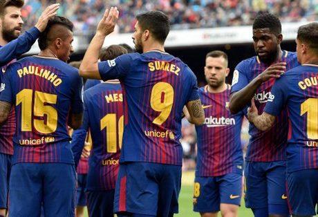 Con su victoria ante el Valencia, el Barça bate el récord de imbatibilidad de la Primera División española tras mantenerse invicto en 39 partidos consecutivos.