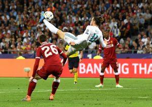 Uno de los momentos claves del partido fue el gol de chilena de Gareth Bale que ponía al Real Madrid por delante.