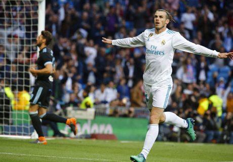Gareth Bale marcó dos goles en el que pudo ser su último partido como jugador del Real Madrid en el Estadio Santiago Bernabéu.