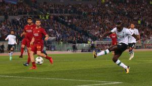 Sadio Mané abrió el marcador en la primera ocasión de la que dispuso en el Olímpico de Roma.