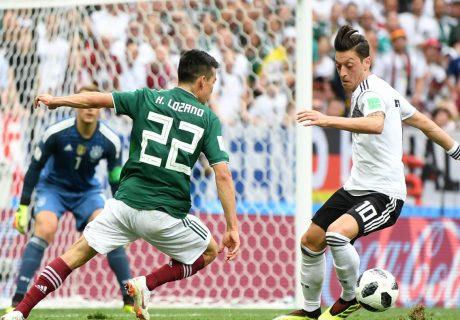Un gol del delantero del PSV Hirving Lozano le dio la victoria a México sobre la vigente campeona del mundo.