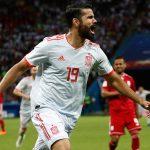 Diego Costa marcó el gol de la victoria de la Selección Española ante la Selección de Irán, un tanto afortunado que le sitúa con tres goles en los dos partidos disputados en este Mundial.