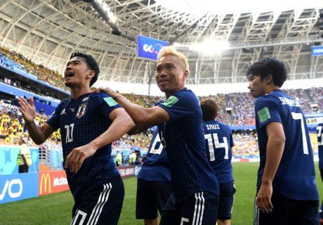 Japón se llevó la victoria ante Colombia aprovechando un despiste de Arias en el marcaje a Osako en un corner.