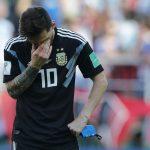Lionel Messi debutó fallando un penalti ante Islandia en un partido que acabó en empate para Argentina.