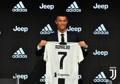 Cristiano Ronaldo fue presentado como nuevo jugador de la Juventus para las próximas 4 temporadas.