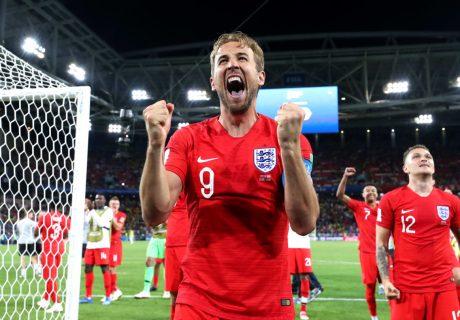 Harry Kane marcó por sexto partido consecutivo y fue el mejor de los ingleses ante Colombia.