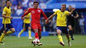 Dele Alli jugó su mejor partido de este Mundial, redondeando su actuación con el segundo gol inglés.