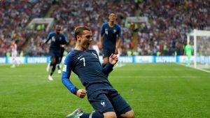 Antoine Griezmann generó dos goles de la nada en una primera parte en la que Francia acabó con 2 goles en el marcador.