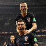 Ivan Perisic asistió a Mario Mandzukic en el gol decisivo de la victoria de Croacia ante Inglaterra por 2-1.