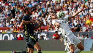 Gareth Bale marcó un gran gol para empatar el partido ante la Juventus en la ICC.