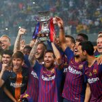 El FC Barcelona sumó su 13º título en la Supercopa de España. Messi logra su 33º título con los culés.