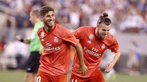 La sociedad formada por Gareth Bale y Marco Asensio fue la responsable de la victoria del campeón de Europa ante el cuadro romano.