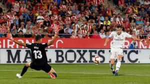 Gareth Bale marcó el gol de la noche en una gran jugada del campeón de Europa.