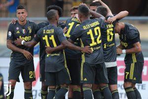 La Juventus arrancó con un temprano gol de Sami Khedira que preveía un partido mucho más cómodo.