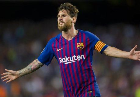 La Liga volvió con doblete de Lionel Messi ante el Deportivo Alavés de Abelardo, marcando el gol 6000 de los culés en La Liga.