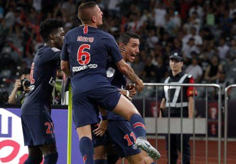 Ángel Di María marcó dos de los 4 goles del PSG en la victoria en la Supercopa de Francia ante el AS Mónaco.