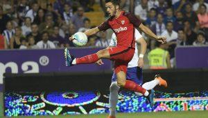 Pablo Sarabia lideró la victoria del Sevilla FC en la Europa League en Hungría.