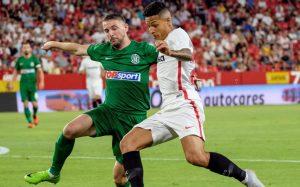 El Sevilla pagó cara su falta de gol y viajará a Lituania con tan sólo un gol de ventaja.
