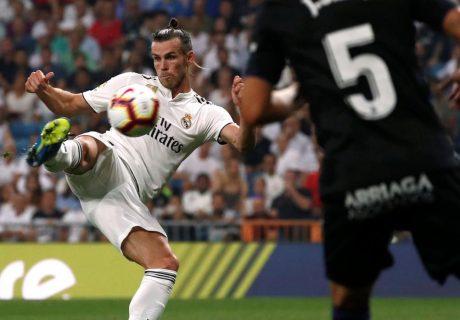 Gareth Bale sigue en racha, marcando un gol de volea que abrió el marcador ante el CD Leganés.